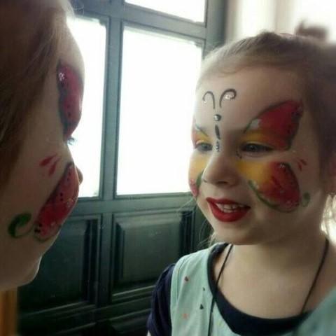 arcfestés gyerekeknek